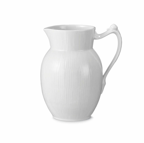 Royal Copenhagen White Fluted Plain Creamer