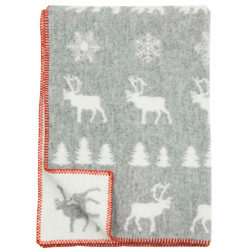 Wilderness ECO Wool Children's Blanket, Grey