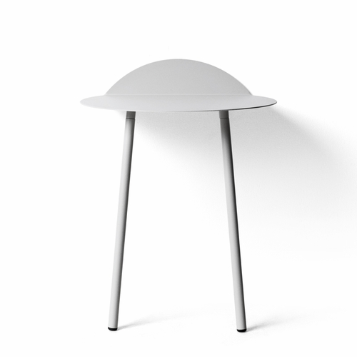 Yeh Wall Table, Low, Light Grey