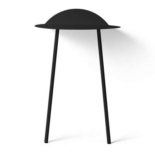 Yeh Wall Table, Tall, Black