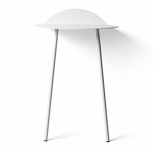 Yeh Wall Table, Tall, White