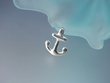 Anchor Sterling Silver Pendant Necklace