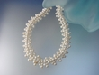 White  Freshwather  Pearl  Sterling  Silver  Necklace
