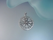 Nautical Sterling Silver Pendant Necklace