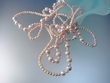 """Pink Freshwater Pearl  Long  72"""" Beaded  Necklace"""