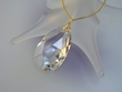 Swarovski  Crystal  Drop  Pendant  Necklace