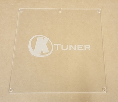Clear ECU Cover for K Series ECU's with KTuner Logo