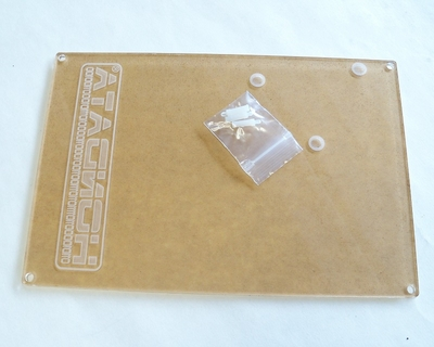 Clear ECU Cover with etched Hondata Logo for OBD1 ECU's with S300