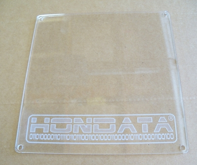 Clear ECU Cover for K Series ECU's with Hondata Logo