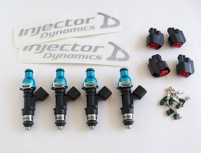 Injector Dynamics ID1000 Fuel Injectors Set D/B/F/H Series Engines