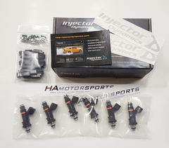 Injector Dynamics ID725cc Fuel Injectors Set for Honda/Acura V6