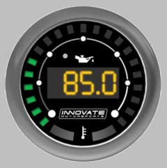 Innovate MTX-D Oil Pressure and Temperature Dual Function Gauge