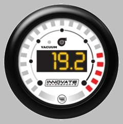 Innovate MTX-D Vacuum/Boost and Shift Light Dual Function Gauge Kit