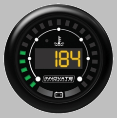 Innovate MTX-D Water Temp / Battery Voltage Dual Function Gauge