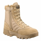 "Original Swat Classic 9"" Military Boots Side Zipper Soft Toe 115202"