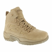 "Reebok 6"" Military Boots Soft Toe / Side Zipper RB8695"