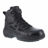 "Reebok 6"" Tactical Boots Comp Toe / Side Zipper RB8674"