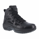 "Reebok 6"" Waterproof Tactical Boots Side Zipper Soft Toe RB8688"