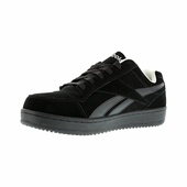 Reebok Black Suede Skateboard Shoe Steel Toe RB1910