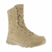 "Reebok Dauntless 8"" Lace-up Army Boots Soft Toe RB8820 - AR-670 Compliant"