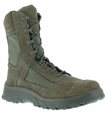 Reebok KRIOS Sage Green Waterproof Military Boots Made in U.S.A. CM8802