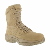 Reebok Military Boots Side Zipper Soft Toe RB8895