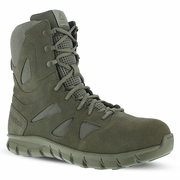 Reebok Sage Green Sublite Cushion Tactical Boot Comp Toe RB8881