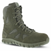 Reebok Sage Green Sublite Cushion Tactical Boots Soft Toe RB8882