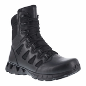 "Reebok Zigkick 8"" Men's Tactical Boot Side Zipper Soft Toe RB8845"