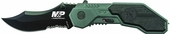 Smith & Wesson Military Police Magic Assisted Opening Serrated Folding Knife SWMP1BS