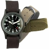 Smith & Wesson Military Watch with 3 straps