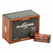 Surefire 123A 3v Lithium Batteries 12-pack