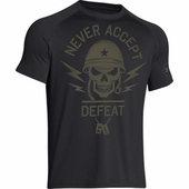 Under Armour Never Accept Defeat T-Shirt 1258879