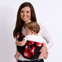 Balboa Baby Adjustable Sling Black w/Red Poppy Trim