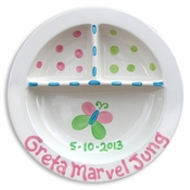 Butterfly Divided Plate