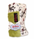"Trend Lab Dr. Seuss Receiving Blanket ""Cat In The Hat Green"""