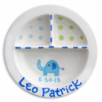 Elephant Divided Plate