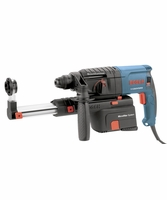 """BOSCH 11250VSRD 3/4"""" SDS-plus Rotary Hammer, Pistol Grip w/ Dust Collection"""