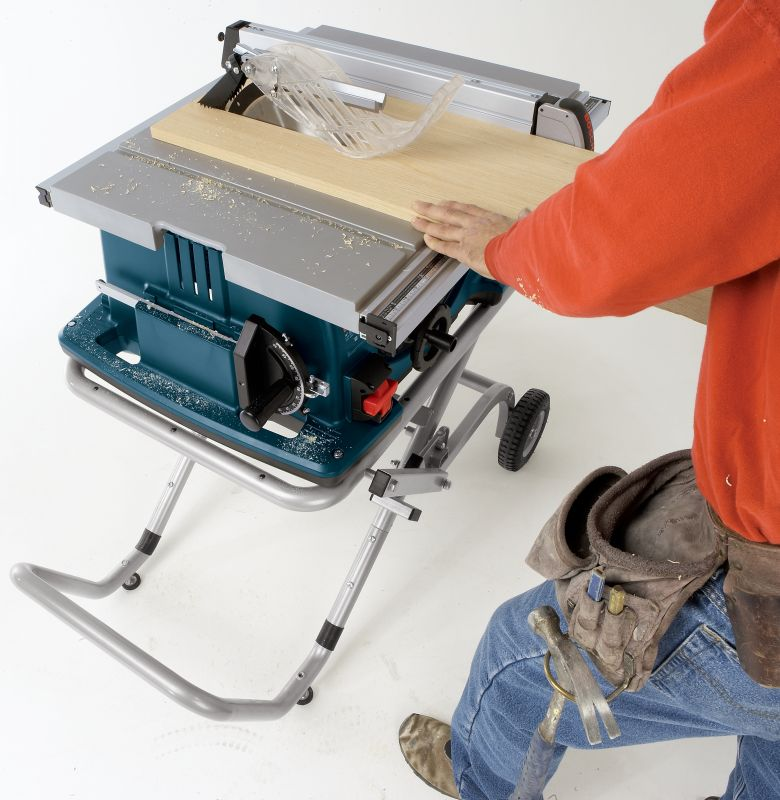 Bosch 4100 09 10 In Worksite Table Saw With Gravity