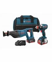 BOSCH CLPK204-181 - 18V Lithium-Ion Heavy Duty 2-Tool Brushless Combo Kit