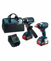 BOSCH CLPK223-181 - 18V Lithium-Ion Heavy Duty 2-Tool Brushless Combo Kit