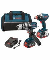 BOSCH CLPK224-181 - 18V Lithium-Ion Heavy Duty 2-Tool Brushless Combo Kit