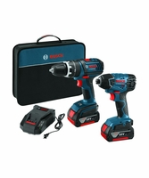 BOSCH CLPK237-181 - 18V 2-Tool Compact Tough Combo Kit