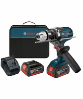 BOSCH DDH181X-01 - 18 V Brute Tough 1/2 In. Drill/Driver Kit with KickBack Control