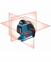 Bosch GLL-3-80 - 360 Three-Plane Leveling and Alignment-Line Laser