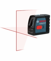 BOSCH GLL2-15 Self-Leveling Cross-Line Construction Laser