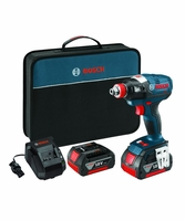 "BOSCH IDH182-01 - 18 V EC Brushless 1/4"" and 1/2"" Socket-Ready Impact Driver"