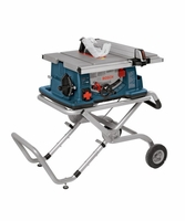 Bosch 4100-09 - 10 In Worksite Table Saw with Gravity Rise Wheeled Stand