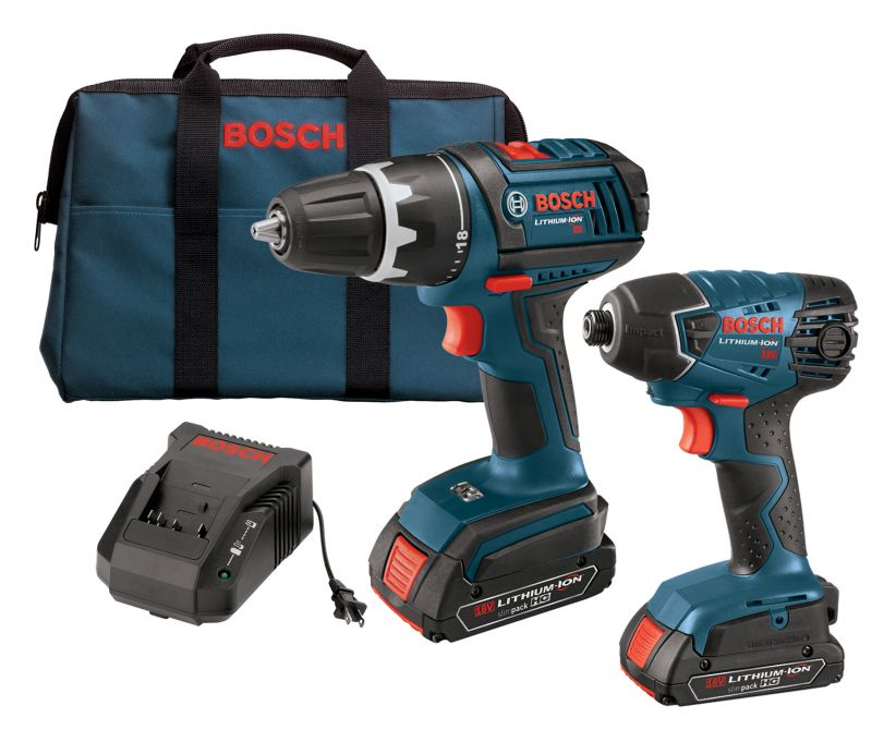 Bosch Clpk250 181l 18v Brushless 2 tool Kit With Hammer Drill and Driver