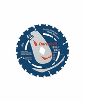 """BOSCH Power Tools DCB824 8-1/4"""" 24T Construction Portable Saw Blade for Framing"""